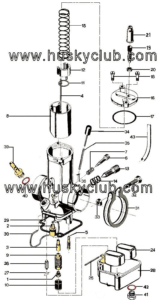 bing slide carb diagram